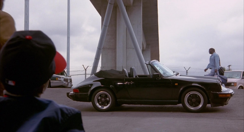 Porsche 911 Cabriolet Sports Car of Danny Glover as George Knox in Angels in the Outfield Movie (1)