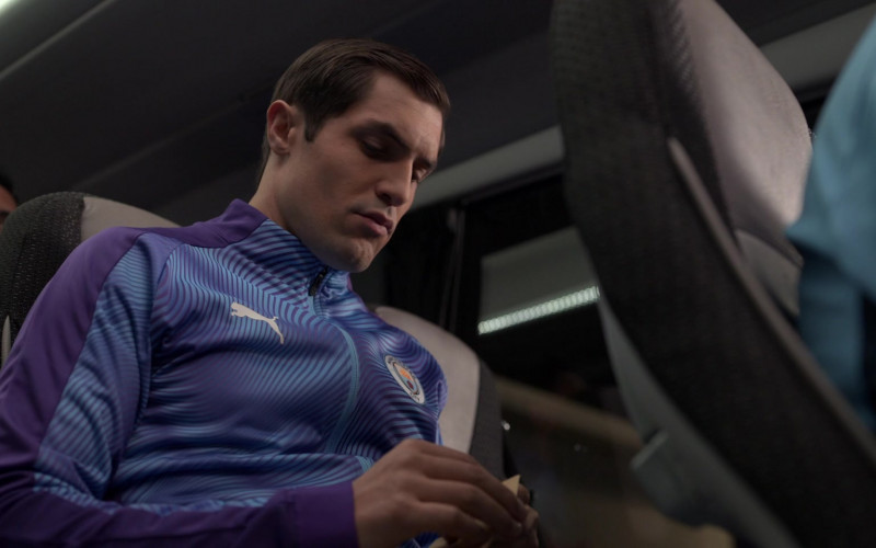 Puma Men's Sports Jacket in Ted Lasso S01E10