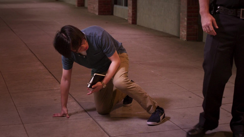 Puma Sneakers of Jimmy O. Yang as Will O'Brien in The Opening Act (1)