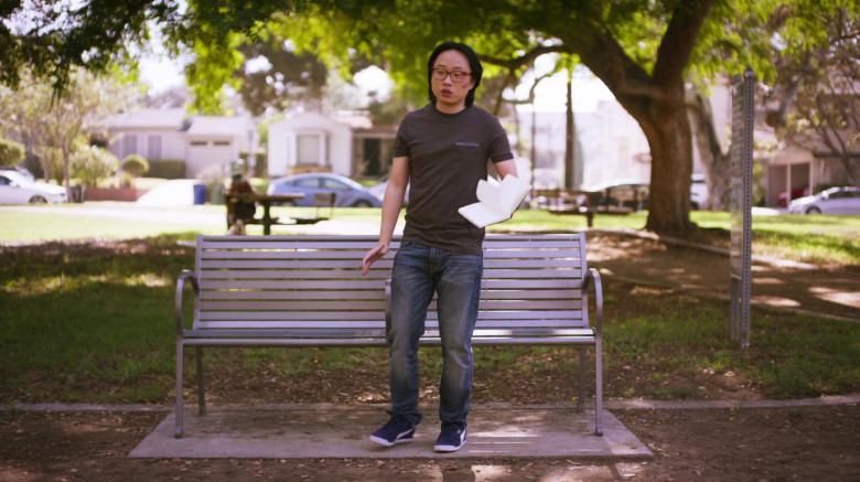 Puma Sneakers of Jimmy O. Yang as Will O'Brien in The Opening Act (2)