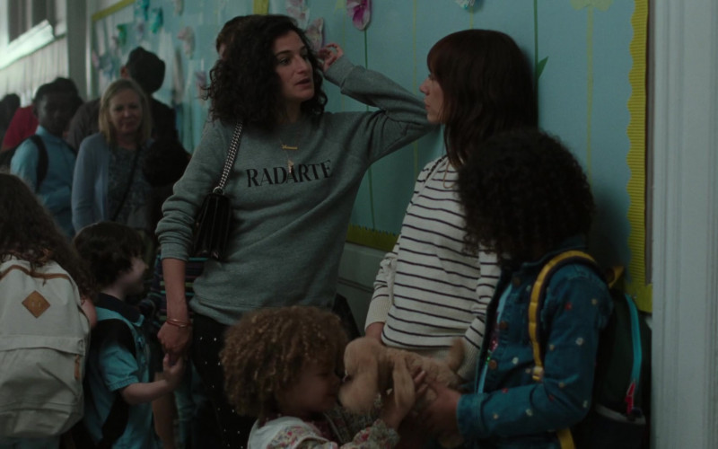 RADARTE by Rodarte Sweatshirt Outfit of Jenny Slate as Vanessa in On the Rocks Movie