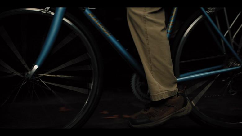 Raleigh Bicycle of Adam Sandler as Hubie Dubois in Hubie Halloween Movie by Netflix (3)