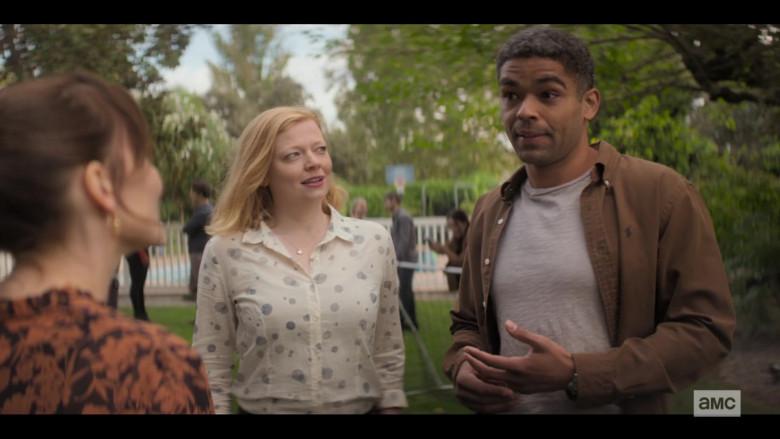 Ralph Lauren Brown Shirt of Kingsley Ben-Adir in Soulmates S01E01 TV Show (1)