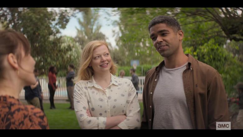 Ralph Lauren Brown Shirt of Kingsley Ben-Adir in Soulmates S01E01 TV Show (2)
