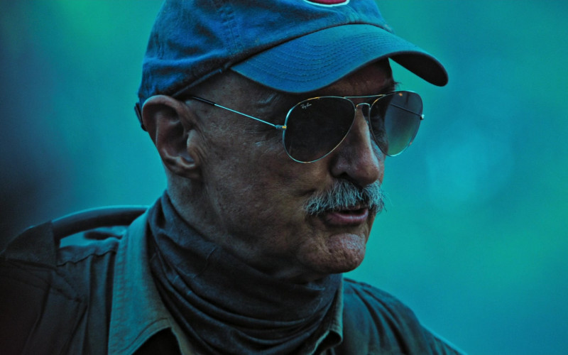 Ray-Ban Aviator Sunglasses of Michael Gross as Burt Gummer in Tremors Shrieker Island Film (1)