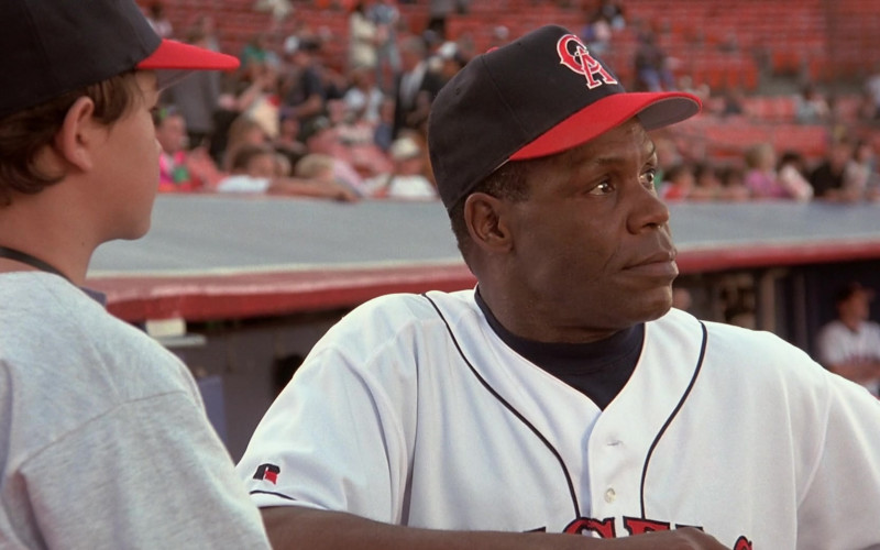 Riddell Baseball Shirt of Danny Glover as George Knox in Angels in the Outfield Movie (1)