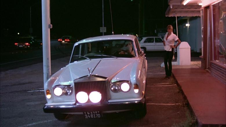 Rolls-Royce Silver Shadow I White Car in The Cannonball Run