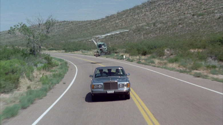 Rolls-Royce Silver Spur Car in Cannonball Run II Movie (1)