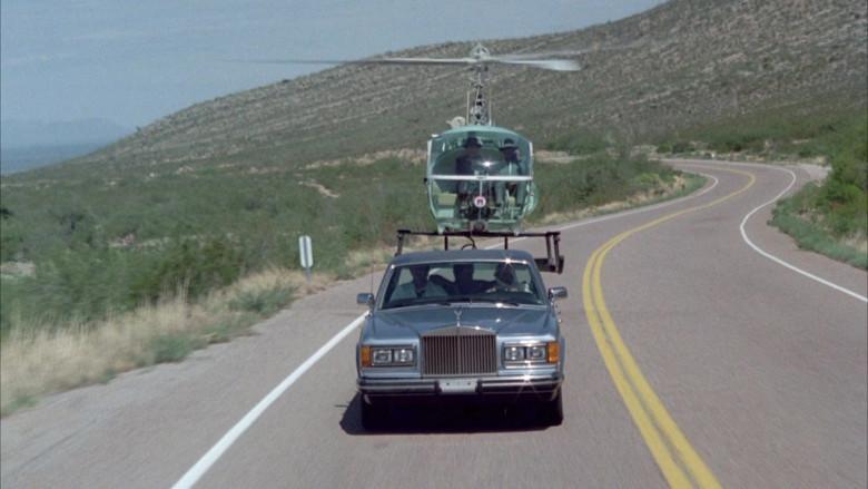 Rolls-Royce Silver Spur Car in Cannonball Run II Movie (2)
