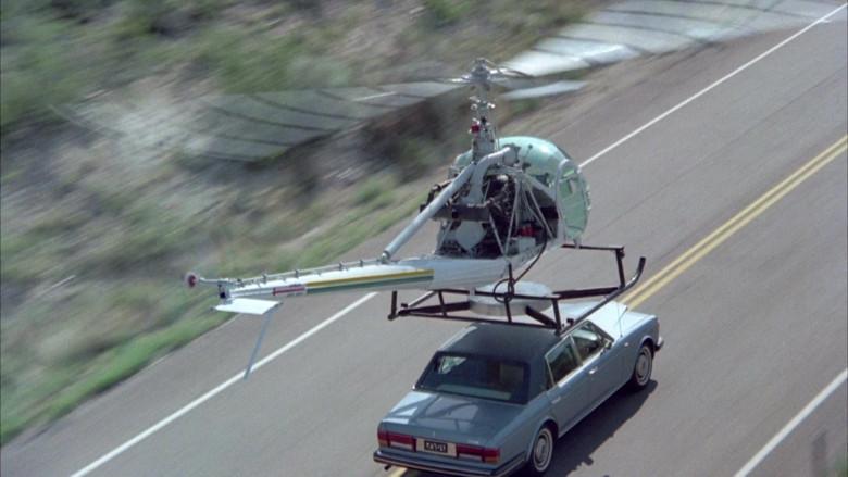 Rolls-Royce Silver Spur Car in Cannonball Run II Movie (3)