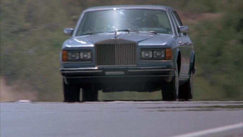 Rolls-Royce Silver Spur Car in Cannonball Run II Movie (4)