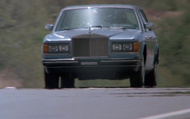 Rolls-Royce Silver Spur Car in Cannonball Run II Movie (4)