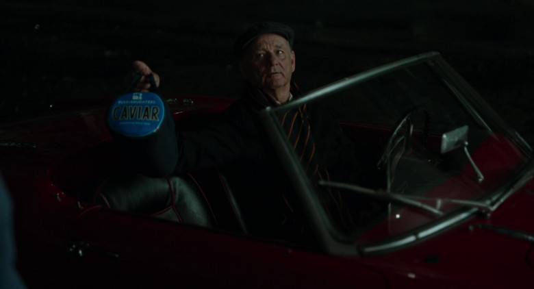 Russ & Daughters Caviar Held by Bill Murray as Felix in On the Rocks 2020 Movie (1)