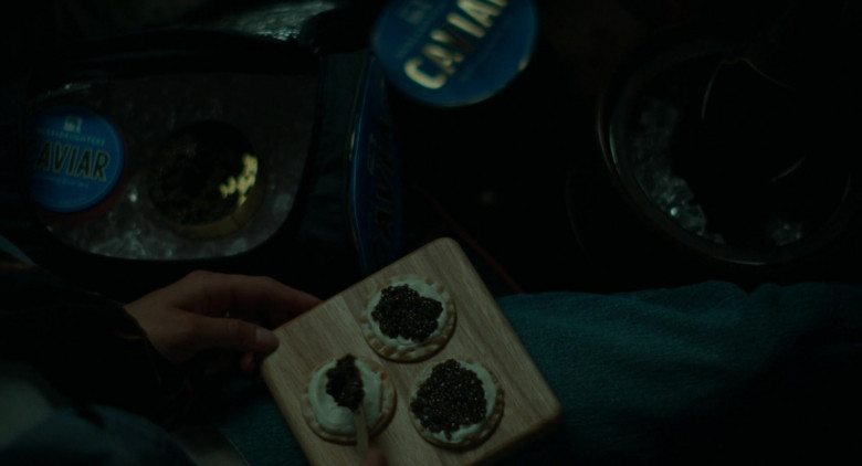 Russ & Daughters Caviar Held by Bill Murray as Felix in On the Rocks 2020 Movie (2)
