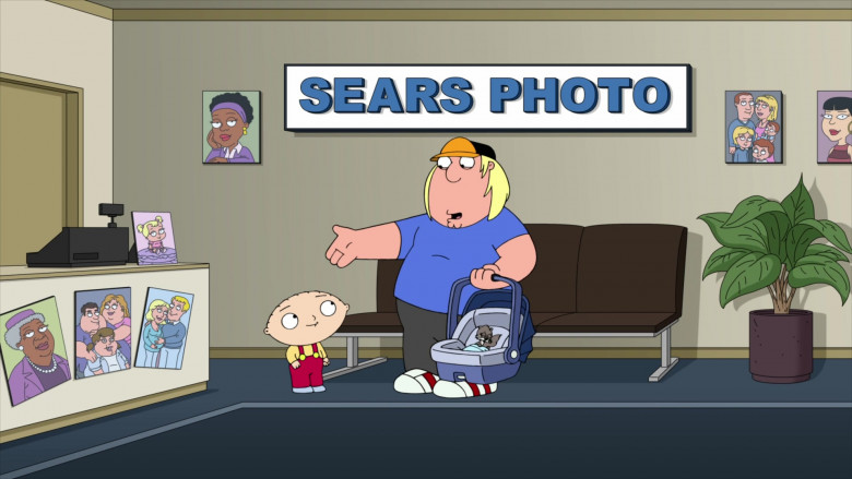 Sears Store in Family Guy S19E03 TV Show (2)