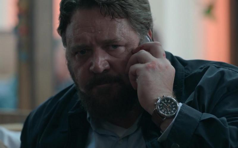 Shinola Wrist Watch of Russell Crowe as Tom Cooper (Man) in Unhinged 2020 Movie (2)