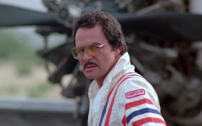 Simpson Racing Suit of Burt Reynolds as J.J. McClure in Cannonball Run II (1)