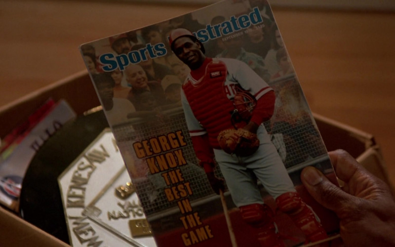 Sports Illustrated Magazine in Angels in the Outfield (1994)