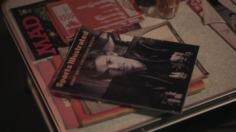 Sports Illustrated and Mad Magazines in The Queen's Gambit Episode 6
