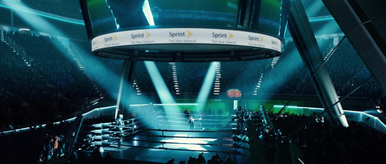 Sprint Telecommunications in Real Steel (2011)