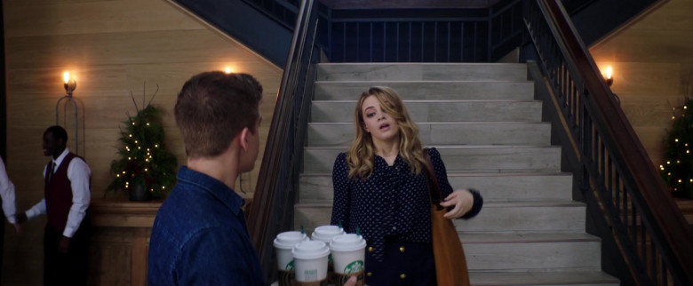 Starbucks Coffee Cups Held by Dylan Sprouse as Trevor Matthews in After We Collided (1)