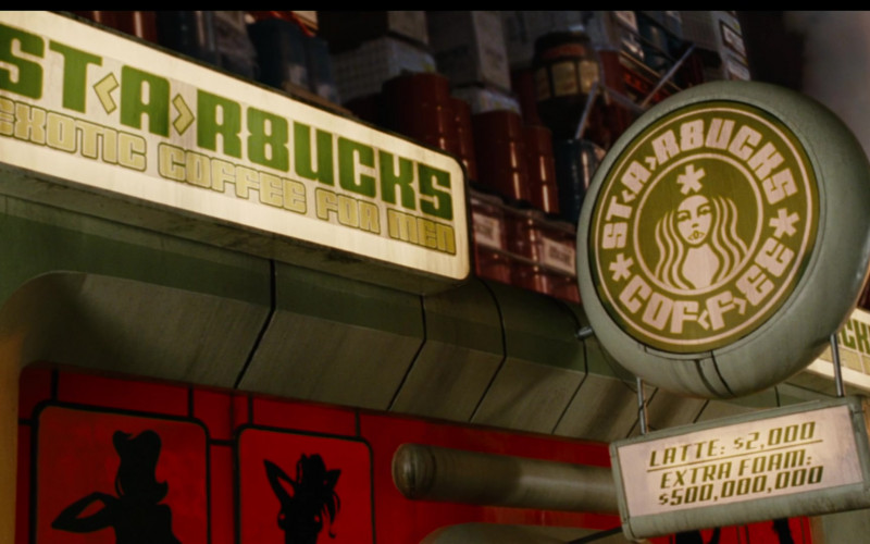 Starbucks Coffeehouse in Idiocracy Movie (1)