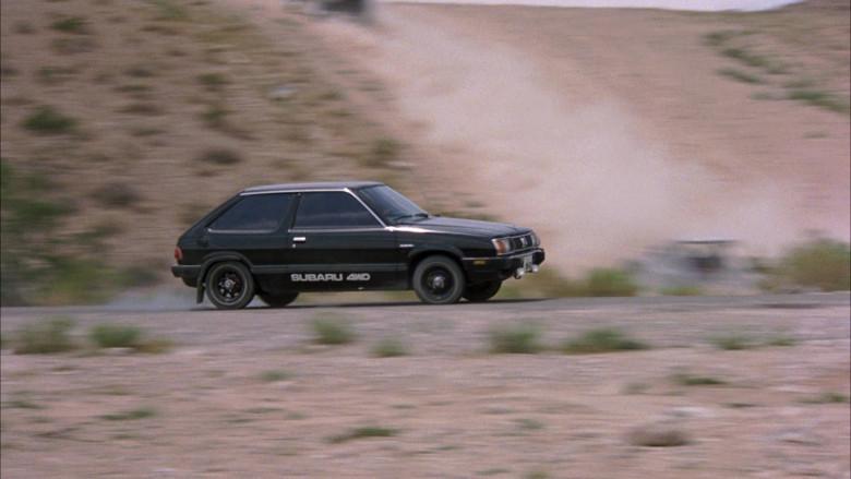 Subaru DL Black Car in The Cannonball Run (1)