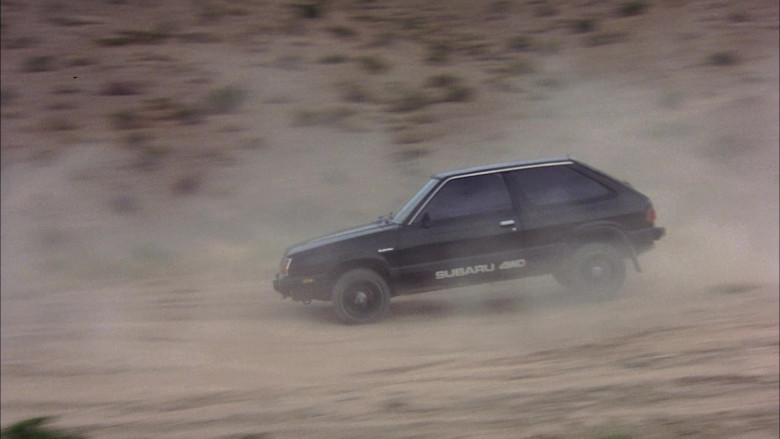 Subaru DL Black Car in The Cannonball Run (2)