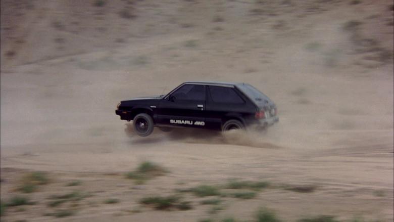 Subaru DL Black Car in The Cannonball Run (3)