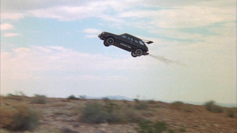 Subaru DL Black Car in The Cannonball Run (5)