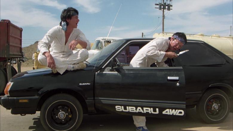 Subaru DL Black Car in The Cannonball Run (7)