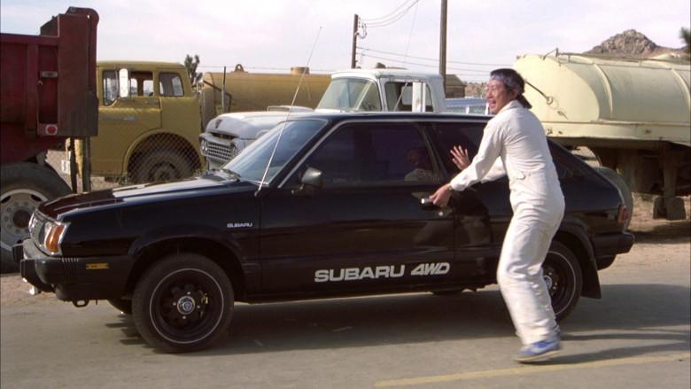 Subaru DL Black Car in The Cannonball Run (8)
