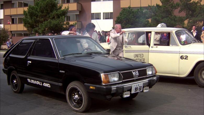 Subaru DL Black Car in The Cannonball Run (9)