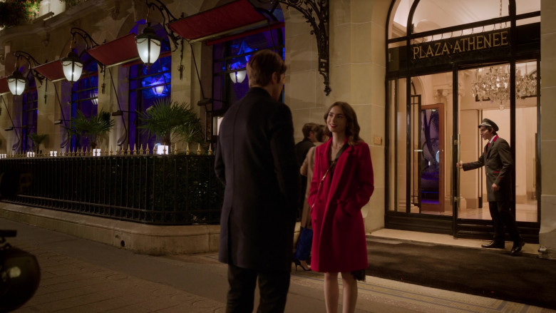 The Hotel Plaza Athénée in Emily in Paris S01E07 French Ending (2)