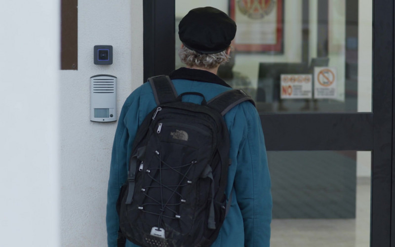 The North Face Backpack of Jack Dylan Grazer in We Are Who We Are S01E06 TV Show (3)