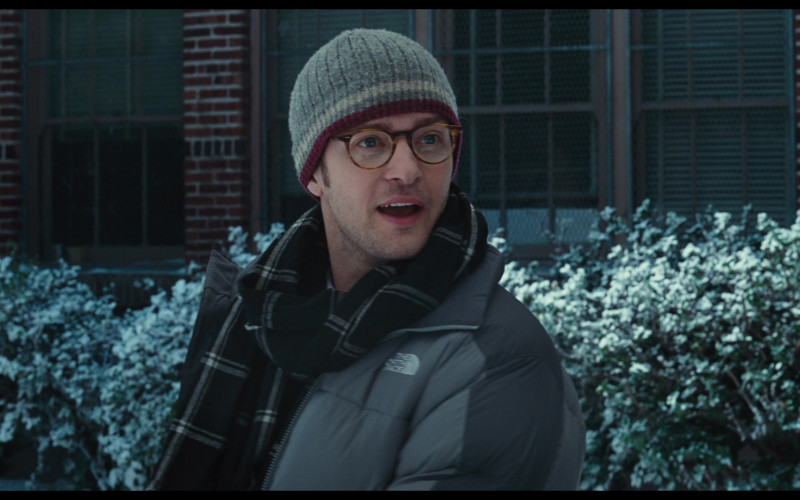 The North Face Winter Jacket of Justin Timberlake as Scott Delacorte in Bad Teacher (2)