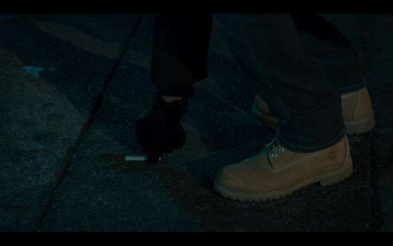 Timberland Boots of Mike Colter as Brian Cooke in Monsterland S01E08 TV Show (1)