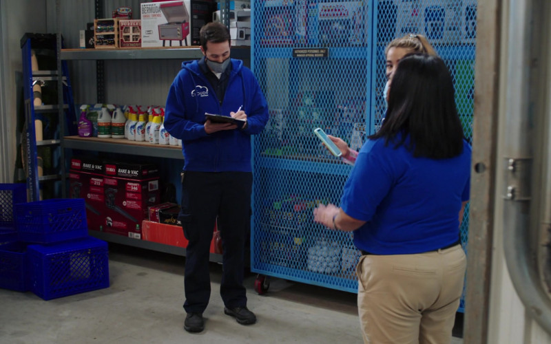 Toro Rake and Vac Yard Tools in Superstore S06E01 TV Show (1)