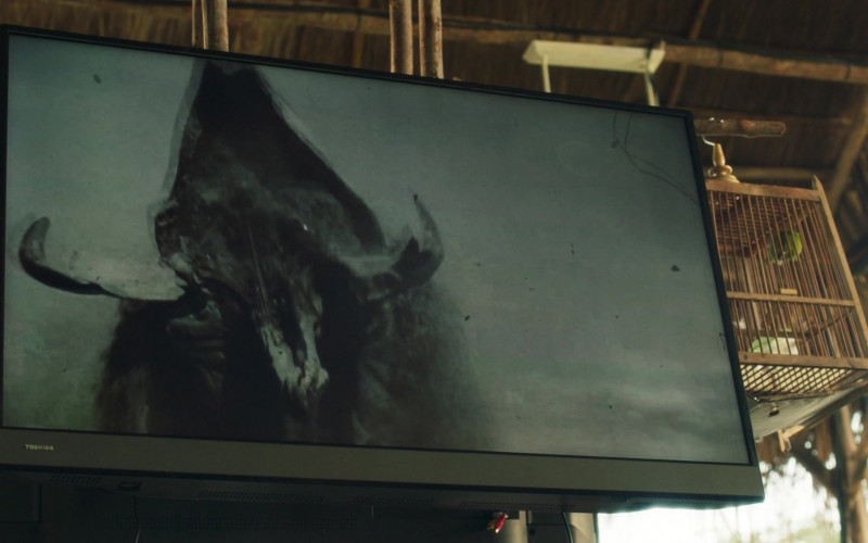 Toshiba TV in Tremors Shrieker Island (2020)