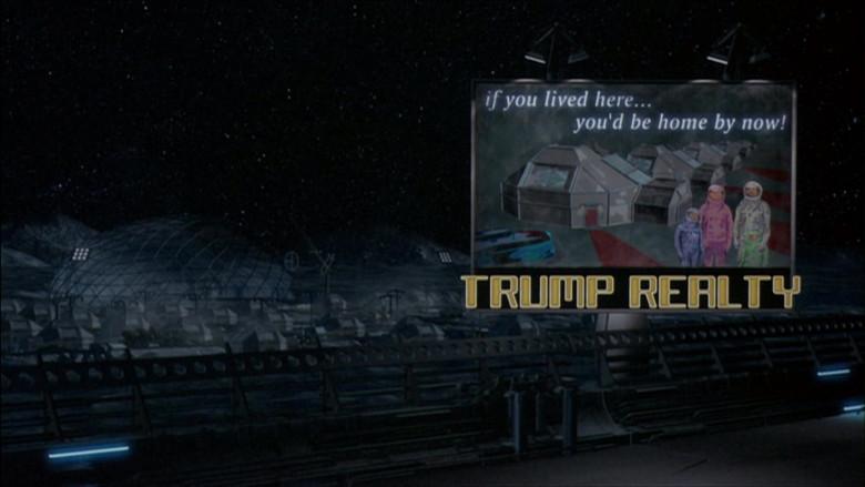 Trump Realty in The Adventures of Pluto Nash (2002)