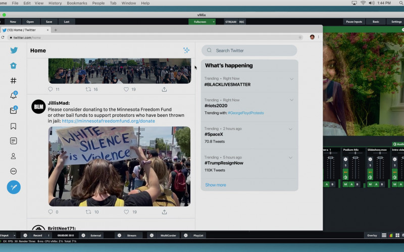 Twitter Website in Social Distance S01E08