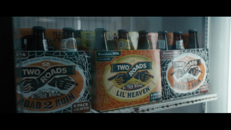Two Roads Beers in Vampires vs. the Bronx (2020)