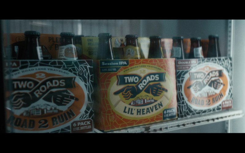 Two Roads Beers in Vampires vs. the Bronx (2020)
