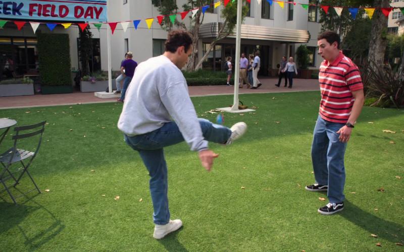 Vans HiTop Sneakers of Sam Lerner as 'Madman' Geoff Schwartz in The Goldbergs S08E03 TV Show (2)