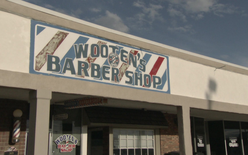 Wooten's Barber and Style Shop in Borat Subsequent Moviefilm (1)