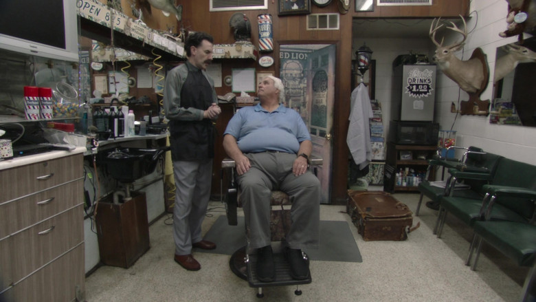 Wooten's Barber and Style Shop in Borat Subsequent Moviefilm (2)