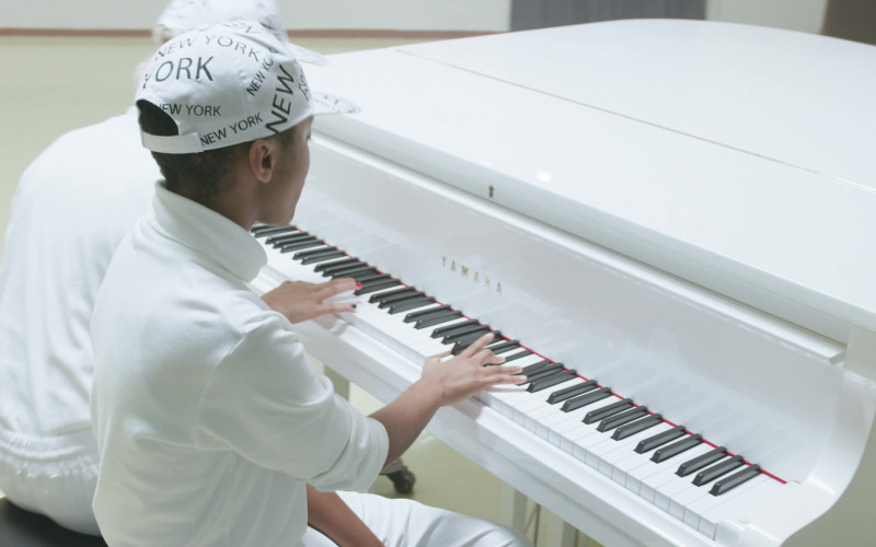 Yamaha Piano in We Are Who We Are S01E06 TV Show