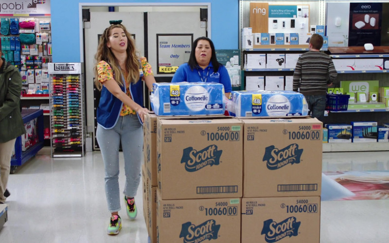 Yoobi Stationery, Liquitex, Ring, Eero, Cottonelle, Scott in Superstore S06E01