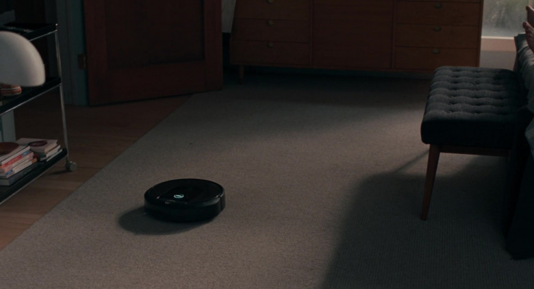 iRobot Roomba automated vacuum cleaning robot in On the Rocks movie (1)