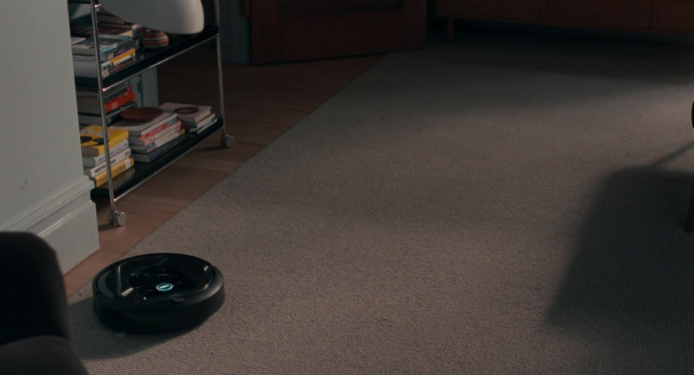 iRobot Roomba automated vacuum cleaning robot in On the Rocks movie (2)